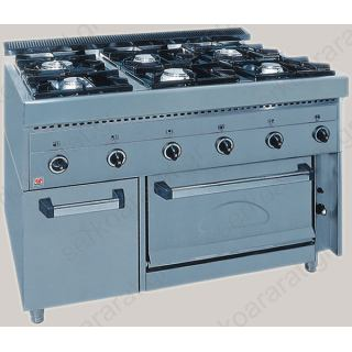 Κουζίνα υγραερίου επαγγελματική FGAS E6