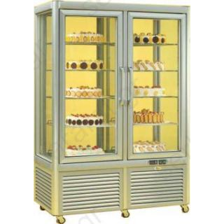 Ψυγείο βιτρίνα συντήρηση διπλή ζαχαροπλαστικής PRISMA 800TNV