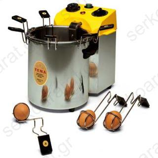 Αυγοβραστήρας επαγγελματικός με 6 ανοξείδωτες αυγοθήκες CU2077