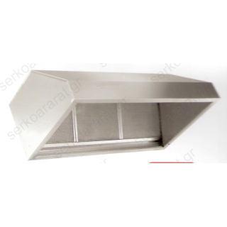 Φούσκα ανοξείδωτη FT230 τοίχου 300Χ90Χ55