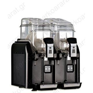 Γρανιτομηχανή επαγγελματική με 2 κάδους 6 λιτρών BIG-BIZ 2