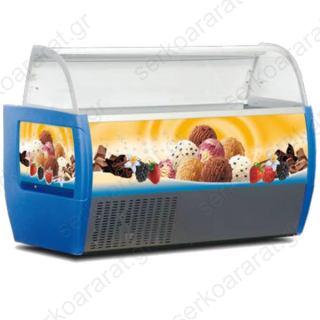 Κατάψυξη βιτρίνα χύμα παγωτού PALMA BLUE 10