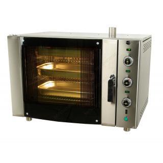 Επαγγελματικός αερόθερμος φούρνος με 5 ταψιά 60Χ40 ή 5 GN1/1 F70