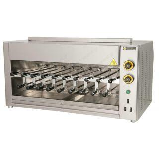 Ψησταριά υγραερίου επιτραπέζια με 19 σούβλες για κοντοσούβλι SGA19