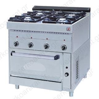 Κουζίνα υγραερίου FGAS E4