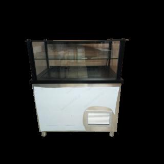 Ψυγείο βιτρίνα συντήρηση με ανακύκλωση αέρα 100Χ70Χ130