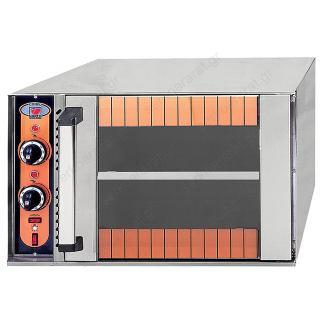 Φούρνος ηλεκτρικός για 2 ταψιά 60Χ40 ή GN 1/1 CORFU
