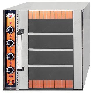 Φούρνος ηλεκτρικός για 4 ταψιά 60Χ40 ή GN 1/1 CRETE