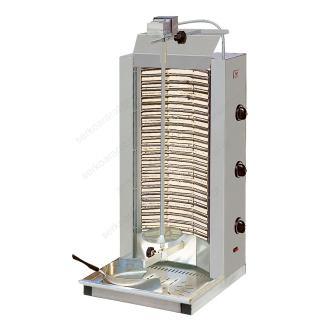 Ηλεκτρικός γύρος με σωληνωτές αντιστάσεις και 3 διακόπτες χειρισμού ND3
