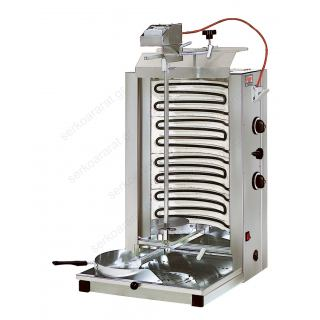 Γύρος ηλεκτρικός με σωληνωτές αντιστάσεις και 2 διακόπτες χειρισμού ND6