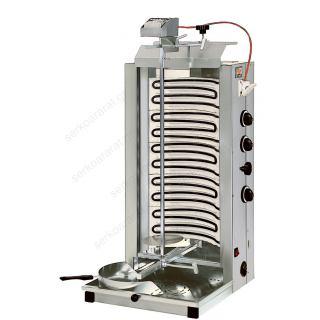 Γύρος ηλεκτρικός με αντιστάσεις σωληνωτές και 3 διακόπτες χειρισμού ND8