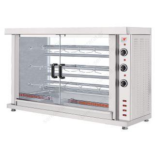 Κοτοπουλιέρα ηλεκτρική επιτραπέζια με 3 σούβλες ΗΚ3