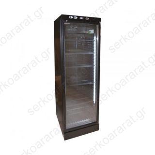 Ψυγείο βιτρίνα συντήρηση αναψυκτικών CL372VG BLACK