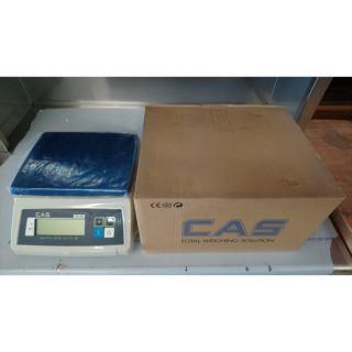 Ζυγός CAS SW-1W 5KG WATERPROOF Εκθεσιακός