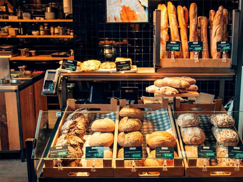 αρτοποιείο φούρνος